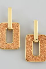 Kate Spade Cork City Doorknocker Earrings - Lyst