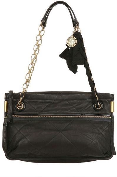 LANVIN LANVIN Medium Leather Shoulder Bag ... - people.com