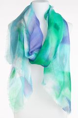 Lauren by Ralph Lauren Watercolor Katherine Scarf - Lyst