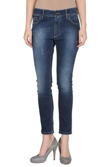 L'Autre Chose Denim Trousers - Lyst