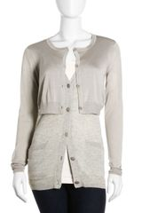 3.1 Phillip Lim Double Layer Cardigan - Lyst