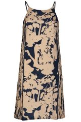 3.1 Phillip Lim Blossom Print Sundress in Black (navy) - Lyst