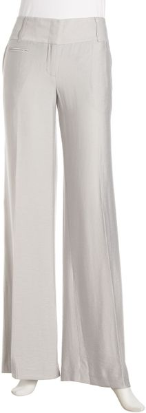 Bcbgmaxazria Carolyn Pants  in Gray (light dov) - Lyst