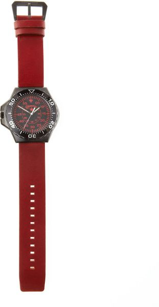 Converse Foxtrot Watch Red in Red for Men - Lyst