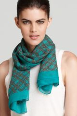 Marc By Marc Jacobs Static Plaid Woven Scarf - Lyst
