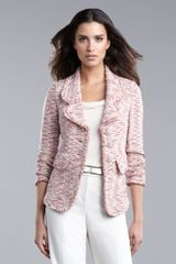 St. John Collection Tweed Jacket - Lyst