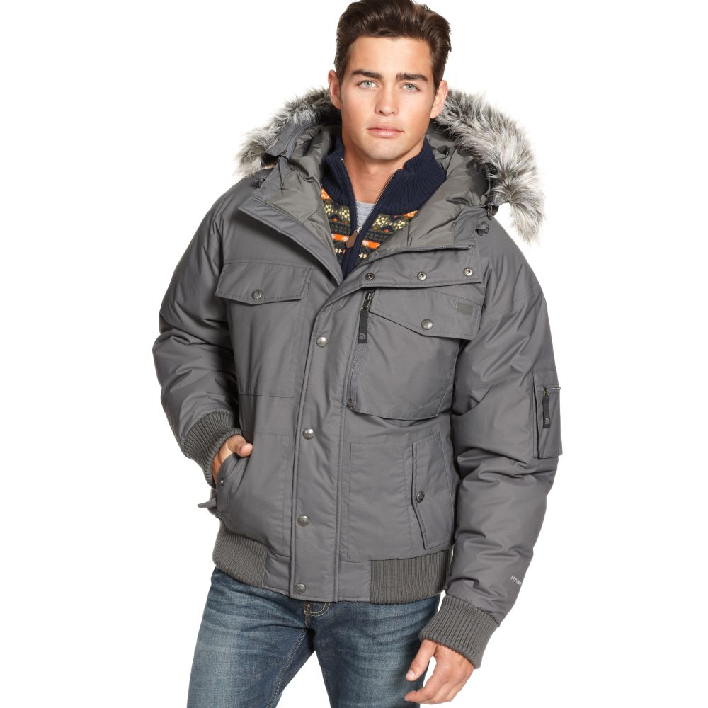 The North Face Gotham Hyvent Down Jacket In Gray For Men