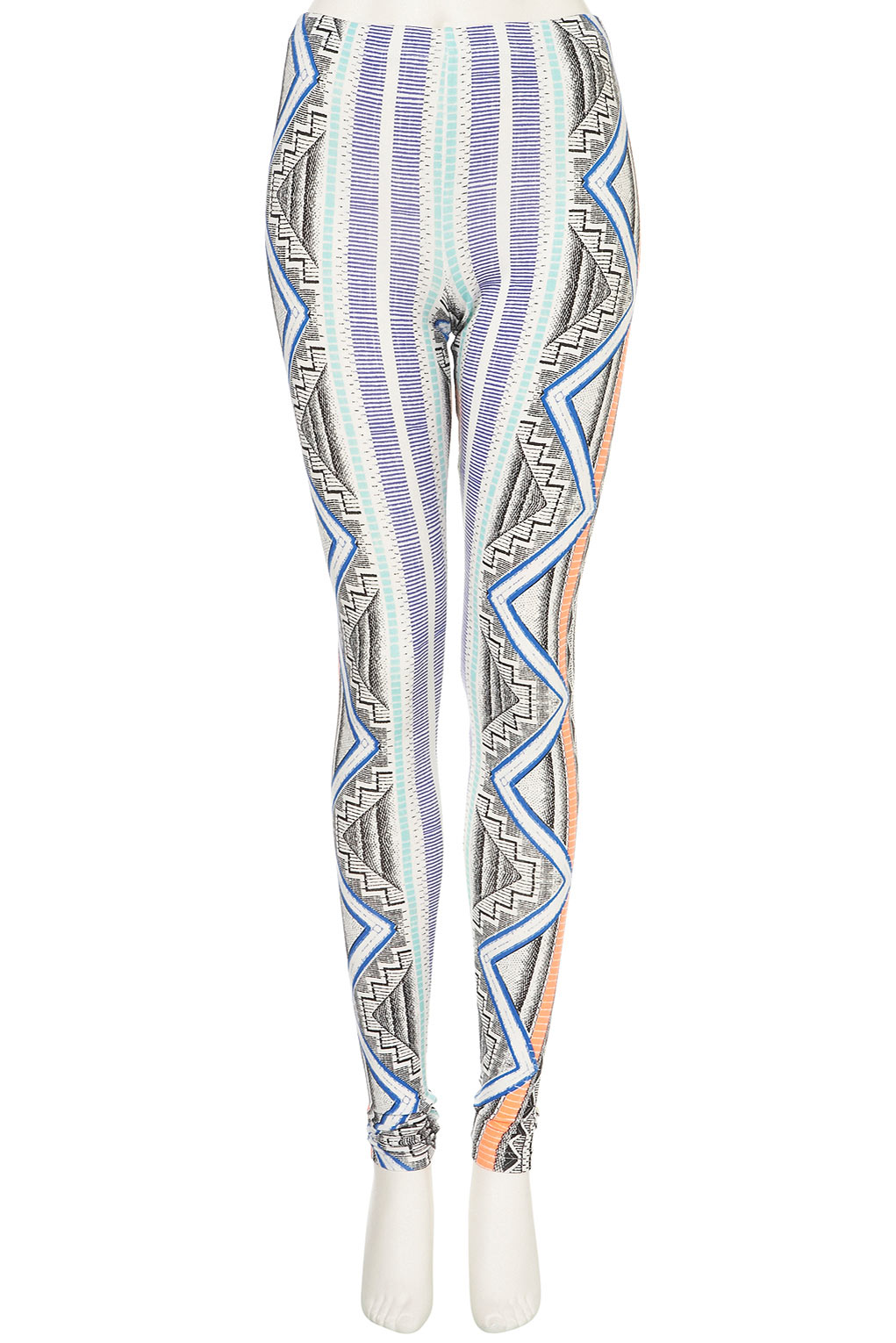 Pay tribute to the sun and the sea in style with Fin Fun's Aztec Sun leggings! Featuring unique, under-the-sea patterns in a rainbow ombre design, you're sure to make your own sunshine wherever you choose to roam in these super-soft yoga pants.