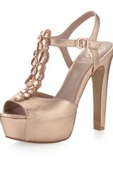 Vince Camuto Shelly T-Strap Pump - Lyst