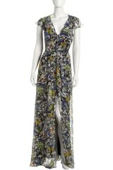 Elizabeth And James Grace Floralprint Maxi Dress - Lyst