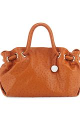 Furla Carmen M Shopper Orange - Lyst