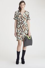 Marni Silk Dress - Lyst