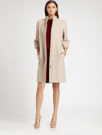 Max Mara Wool Coat - Lyst