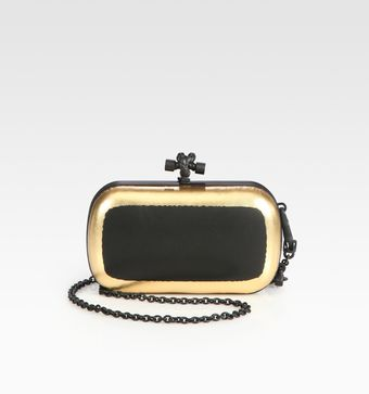 Bottega Veneta Convertible Mini Knot Clutch - Lyst