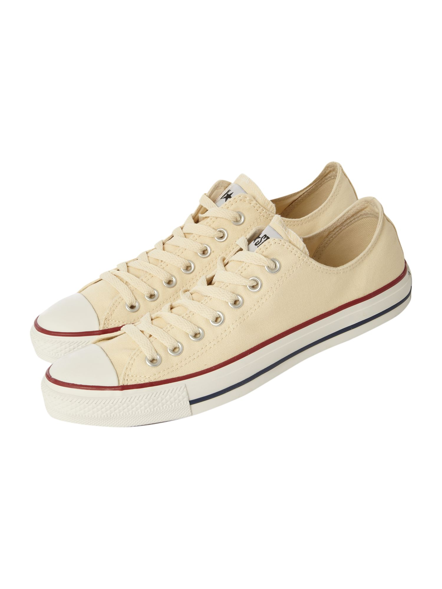 converse chuck taylor all star low top in beige for men. Black Bedroom Furniture Sets. Home Design Ideas