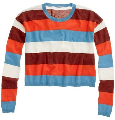 Madewell Colorfield Pullover in Multicolor (bright mediterranean) - Lyst