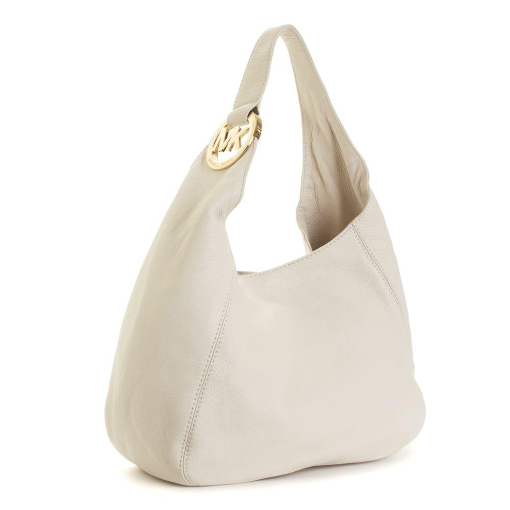 1c25ff9be41ed Lyst - Michael Kors Michael Handbag Fulton Shoulder Bag Large in White