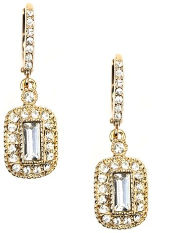 Givenchy Crystal Drop Earrings - Lyst
