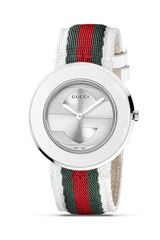 Gucci Uplay Round Stainless Steel Watch - Lyst