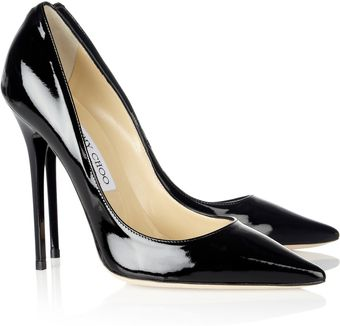 Jimmy Choo Anouk Patentleather Pumps - Lyst
