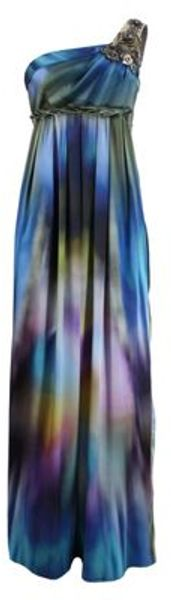 Matthew Williamson Matthew Williamson Gown in Blue (powder) - Lyst