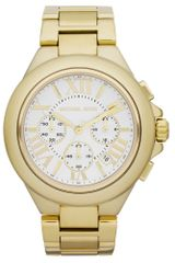 Michael Kors Womens Chronograph Bella Gold Tone Stainless Steel Bracelet 43mm - Lyst