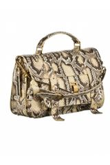 Proenza Schouler Ps1 Medium Python in Animal (delave) - Lyst