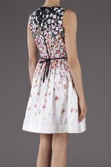 Red Valentino Floral Dress in Multicolor (floral) - Lyst