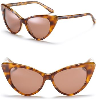 Tom Ford Nikita Cat Eye Sunglasses - Lyst