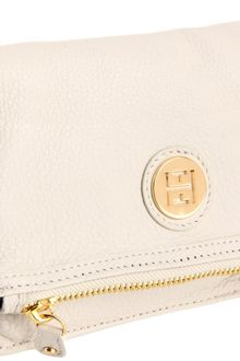 Tommy Hilfiger Tommy Hilfiger Fold Over Pebble Leather Wristlet Pouch Travel Kit - Lyst