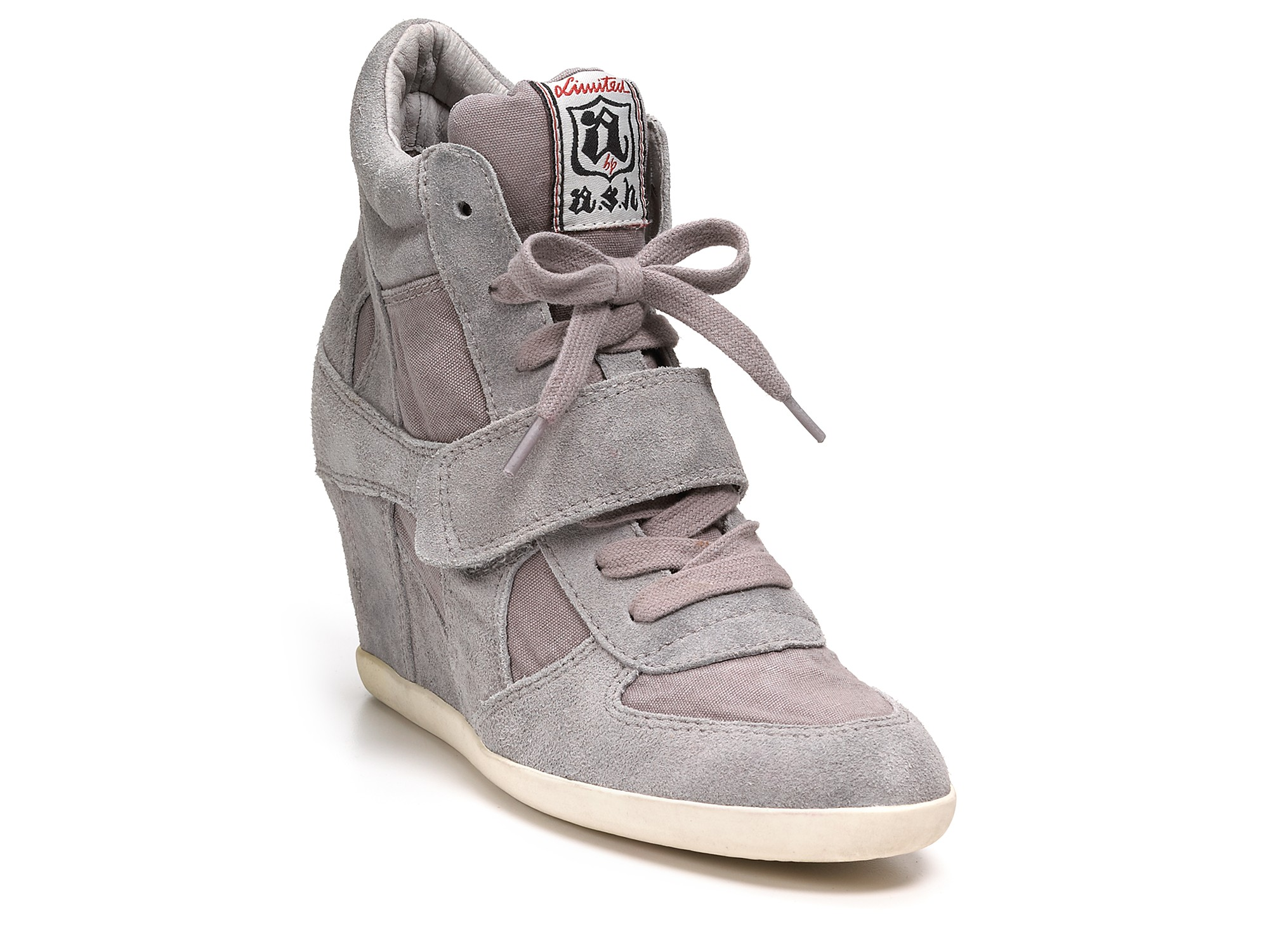 Ash Wedges Bowie Sneakers In Gray Lyst