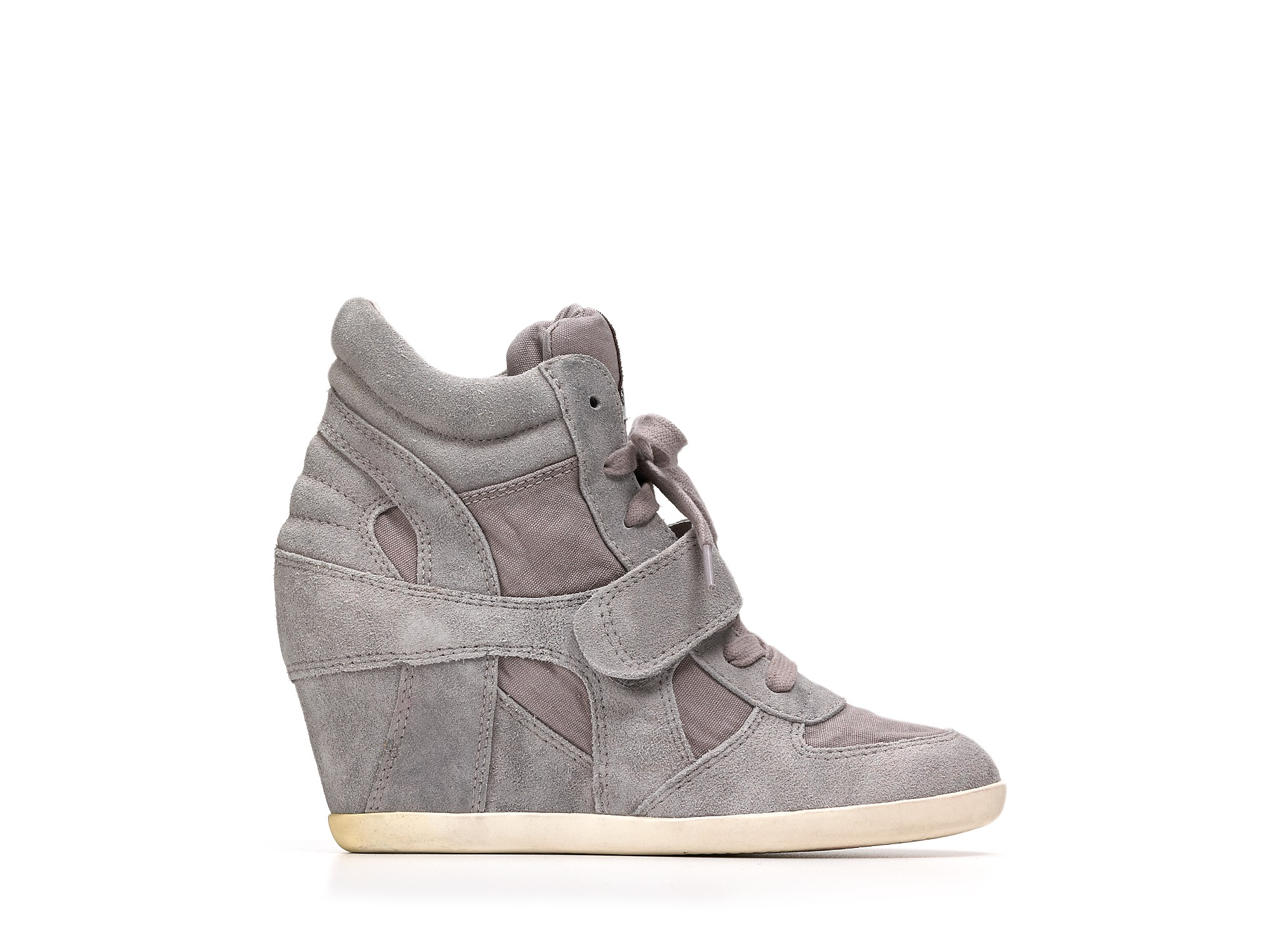 Lyst Ash Wedges Bowie Sneakers In Gray