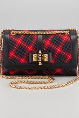 Christian Louboutin Sweet Charity Tartan Shoulder Bag - Lyst
