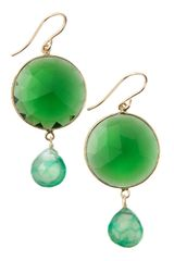 Devon Leigh Quartz Drop Earrings - Lyst