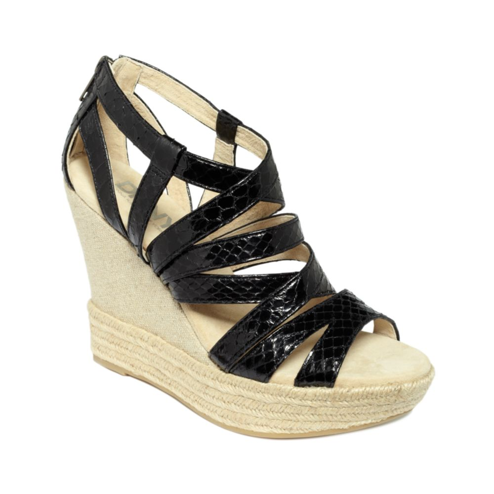 black platform sandals dkny black wedge sandals