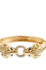 J.Crew Mini Enameled Ram Bangle - Lyst