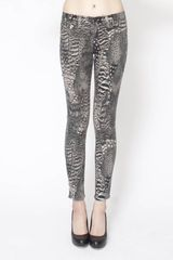 Rag & Bone Feather Legging - Lyst