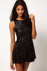 Tfnc Tfnc Sequin Prom Dress - Lyst
