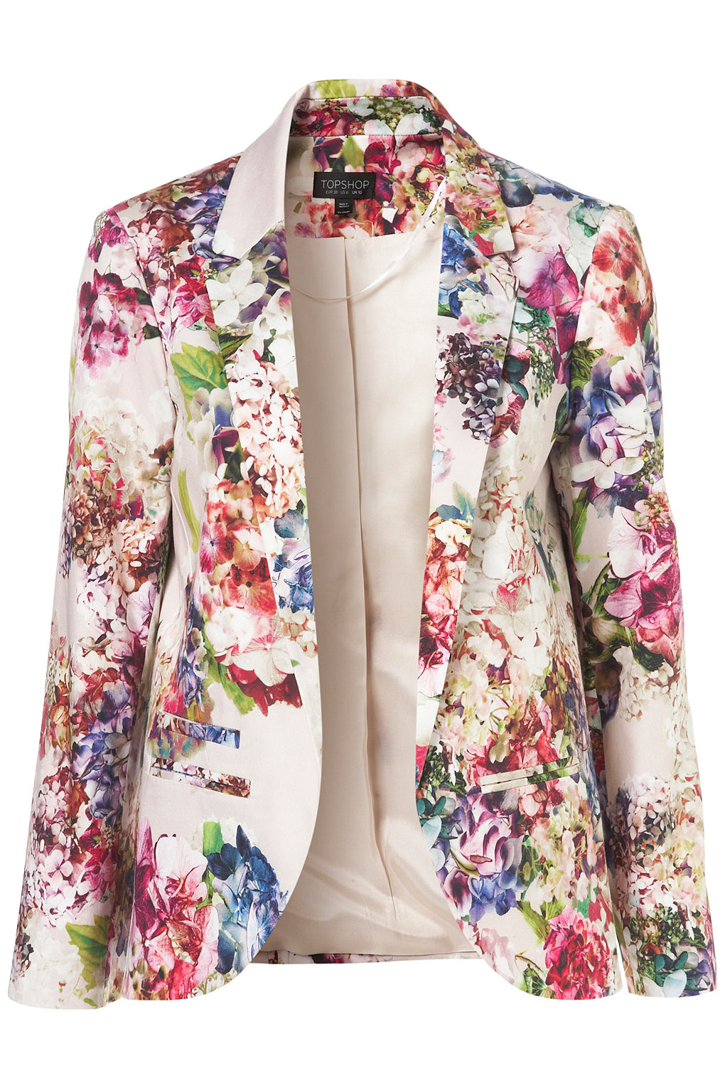 Images of Floral Blazer - Reikian