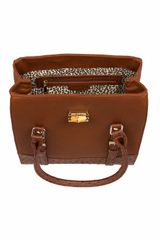 Topshop The Lolita Bag By Marc B in Brown (tan) - Lyst