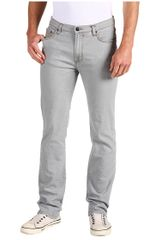 Versace Grey Five Pocket Stretch Denim in Gray for Men (v) - Lyst