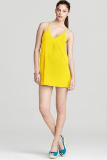 Alice + Olivia Fierra Y Back Tank Dress  - Lyst