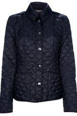 Burberry Brit Quilted Jacket - Lyst