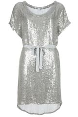 Diane Von Furstenberg Short Sleeved Dress