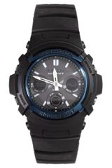 G-shock Gshock Awgm100a1aer Analog Digital Black Watch - Lyst