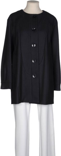 Liu Jo Coat in Blue - Lyst