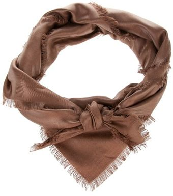 Yves Saint Laurent Frayed Scarf - Lyst