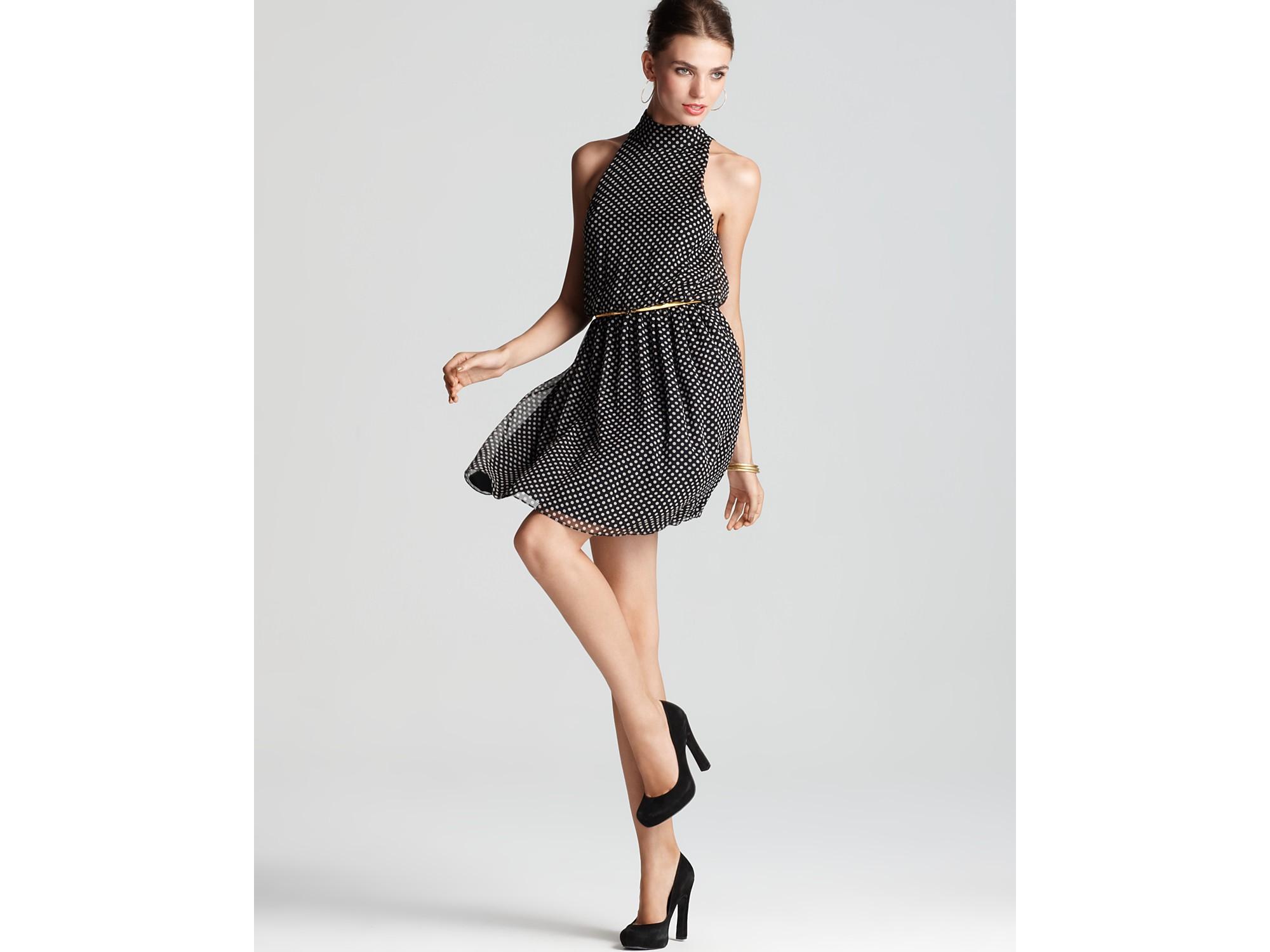 High Belted Dress