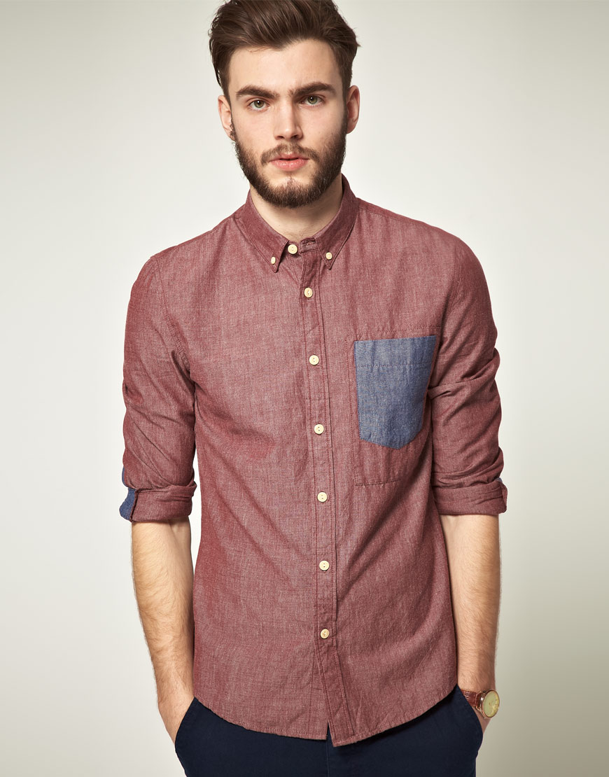 Find great deals on eBay for red chambray shirt. Shop with confidence.