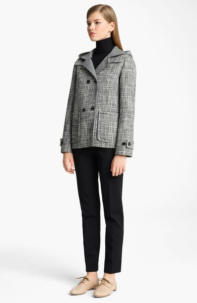 Jil Sander Wool Jersey Leggings in Black - Lyst